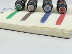 We know ya'll are all excited about Fountatin Pen Day fun this Friday, but we didn't want you to overlook this Limited Edition 2020 Holiday ink series from @robertostersignature (Due to the nature of the limited edition beast...they may not stick around until Friday)! Find all the best fountain pen inks of 2020 at PenChalet.com.