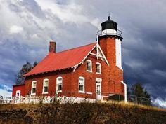Eagle Harbor Lighthouse, Keweenaw Peninsula, Michigan