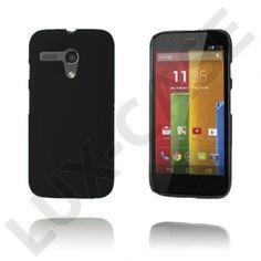 Hard Shell (Sort) Motorola Moto G Deksel