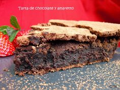 Tarta de chocolate y amaretto