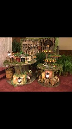 Grooms hunting table Hunting Wedding, Fishing Wedding, Camo Wedding, Cake Table Decorations, Wedding Decorations, Wedding Ideas, Grooms Cake Tables, Fishing Table, Rustic Groom