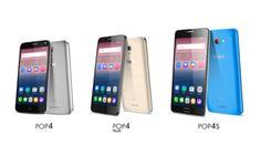 Alcatel anuncia la nueva serie POP 4