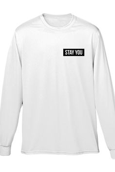 Stay You Long-Sleeve Tee - Joey Kidney - Official Online Store on District LinesDistrict Lines