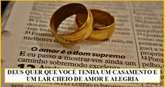 Conselhos para um casamento duradouro | Biblia na Web - www.biblianaweb.com.br Christian Life, Gold Rings, Rings For Men, Wedding Rings, Engagement Rings, My Love, Uber, Youtube, Blog