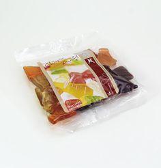 Zechen Fruchtgummi. Das besondere Premium-Fruchtgummi mit 20% Fruchtsaftanteil in Form der Zeche Zollverein.