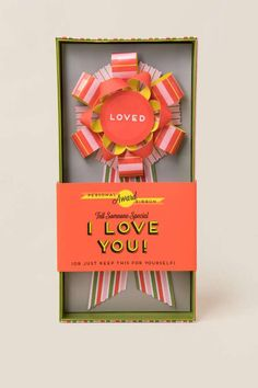 Loved Personal Paper Ribbon