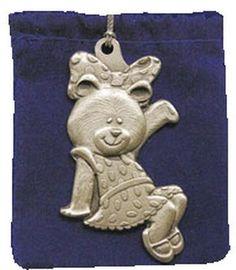 Alpha Xi Delta Betxi Bear ornament from Xi Boutique