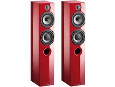 Enceinte colonne TRIANGLE Color colonne Rouge red