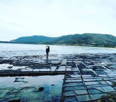 Winter at the Tessellated Pavement on the Tasman Peninsula. Image sent in by Dreamer Diaries on IG https://instagram.com/p/BW6A9MGntr9/