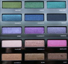 The Urban Decay Urban Spectrum Palette