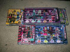 Monster High Bundle Gil Webber Deuce Gorgon Claw Wolf Heat Burns!!!!!!