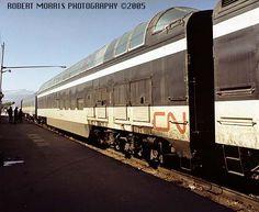 CN PASSENGER TRAINS 1973