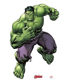 Hulk Comic-Style Life-Size Cardboard Cutout