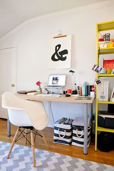 The Perfect Office - Fujifilm Instax Mini 90 Camera, Marshall Stanmore Speaker and Office Ideas!