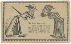 These 19th Century Invitation Cards Are The Old-School Equivalent Of Online Dating [STORY]
