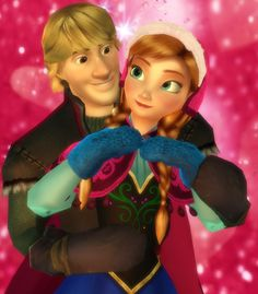 Kristoff and Anna by Simmeh.deviantart.com on @DeviantArt