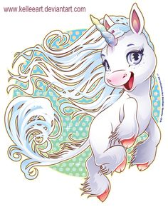 Wind Unicorn by KelleeArt on deviantART
