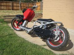 custom built honda ruckus
