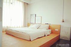 Sleek, minimalist IKEA tatami bedroom design 2015