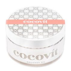 Cocovit Coconut Oil (more of my favorite all natural beauty products here -- http://chicityfashion.com/all-natural-beauty-products/)