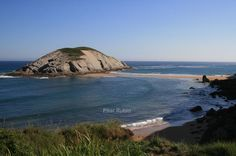 Preciosa playa de Cantabria, #Spain.