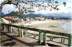 Praia Central ou Dos Pescadores. Matinhos/Paraná.