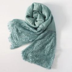 Delicate Lace Hijab- Available in 10 colors