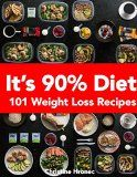It's 90% Diet: 101 Weight Loss Recipes - http://howtomakeastorageshed.com/articles/its-90-diet-101-weight-loss-recipes/