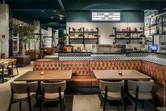 카페 겸 레스토랑_mama kelly 증기기관 공간 같은 이 빈티지한 공간은 헤이그라는 요즘 새로운 핫스팟에 생...