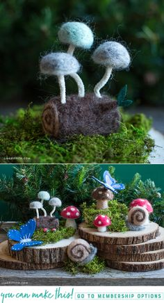 #Felted projects at www.LiaGriffith.com