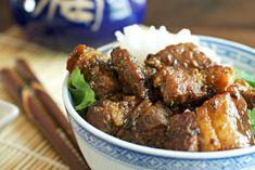 Thai Braised Pork Belly {Slow Cooked} - Tasty Ever After Pork Belly Bacon Recipe, Pork Belly Recipes, Bacon Recipes, Chicken Recipes, Braised Pork Belly, Asian Pork, Pork Cutlets, Asian Kitchen, Fried Vegetables
