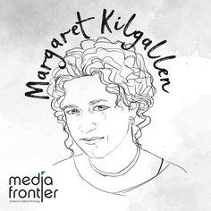 Celebrating female visual artists and designers for International Women's Day - Media Frontier Margaret Kilgallen, Digital Strategy, Ladies Day, Female, Celebrities, Creative, Artist, Inspiration, Design