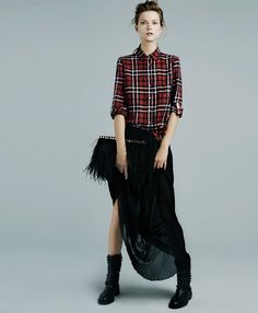 180a0ef875 Zara lookbook 2013. See more. Perfect! Have the skirt and the perfect  button-up to go with it.
