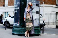 Paris – Alina Gelzina.  #PFW, #AlinaGelzina, #AW16, #Fashion, #FashionWeek, #FW16, #Moda, #Mode, #Paris, #Street, #StreetStyle, #Style, #Woman, #Women Photo © Wayne Tippetts
