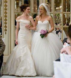 Guerra de novias (2009) | 48 de los vestidos de boda más memorables de las películas