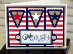 Americana Perfectly Penned by D. Daisy - Cards and Paper Crafts at Splitcoaststampers