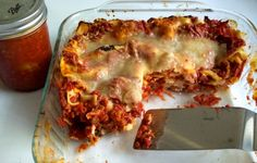 Summer Lasagna with Four Cheeses
