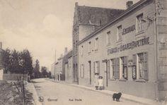 Tabac & Cigarettes, Papeterie (Rue Haute à Genval en 1910 -Belgique)