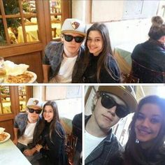 Niall in Rome a few days ago with a fan