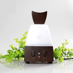 Ultrasonic Air Aroma Humidifier With Changing 7 Color LED Lights – Bamboo Voovu Shop