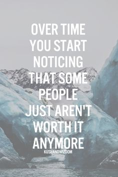 Some people aren't worth it