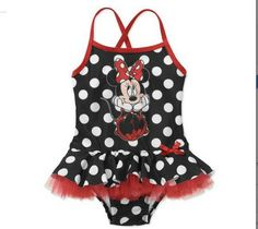 Pretty in polka dots! #MinnieMouse #DisneyBaby