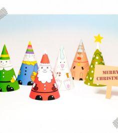 Christmas ornaments free printable!