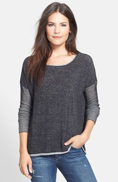 Two by Vince Camuto Boatneck Drop Shoulder Sweater available at #Nordstrom