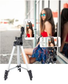YILF Camera Tripod Portable Universal SLR Camera Photography Cloud Stand Desktop Mini Stable Stand Color : Orange