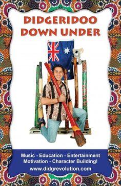 Didgeridoo Down Under Musical Celebration Gainesville, FL #Kids #Events