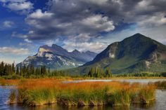 The Colors Of Banff - Mount Rundle, Banff National Park, Alberta, Canada