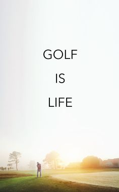 To play life and golf well, you need good preparation, solid technique and an open mind to seize opportunities.