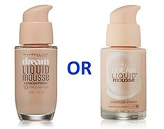 Maybelline Dream Liquid Mousse Foundation PORCELAIN IVORY LIGHT 1  PORCELAIN IVORY 10 ** To view further for this item, visit the image link. (Note:Amazon affiliate link)