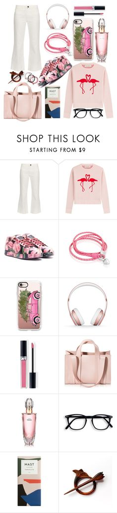 """""""D & G Sneakers"""" by pulseofthematter ❤ liked on Polyvore featuring M.i.h Jeans, Être Cécile, Dolce&Gabbana, Oxford Ivy, Casetify, Beats by Dr. Dre, Christian Dior, Corto Moltedo, Avon and Marc by Marc Jacobs"""
